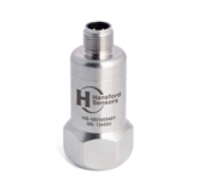 HS-100T Accelerometer - AC acceleration and temperature output via M12 Connector